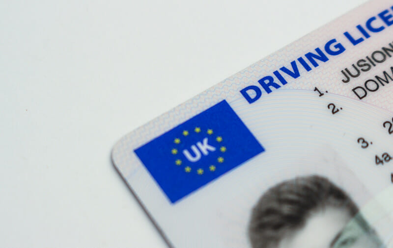 Home country's driver's license
